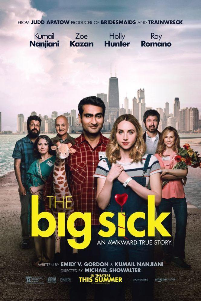 "<p>Based on a true story, this tearjerker follows the love story of Kumail Nanjiani and Emily (Zoe Kazan). As they fall in love, he worries about what his traditional Muslim family will think of their relationship (his mom does constantly invite suitors over for dinner, after all). When Emily becomes seriously ill, Kumail and her parents form a bond that changes everything. Grab the tissues before hitting play.</p><p><a class=""link rapid-noclick-resp"" href=""https://www.amazon.com/Big-Sick-Blu-ray-DVD-Digital/dp/B07472V1B9/ref=ice_ac_b_dpb?ie=UTF8&qid=1514482355&sr=8-2&keywords=the+big+sick&tag=syn-yahoo-20&ascsubtag=%5Bartid%7C10055.g.3243%5Bsrc%7Cyahoo-us"" rel=""nofollow noopener"" target=""_blank"" data-ylk=""slk:STREAM NOW"">STREAM NOW</a> </p>"