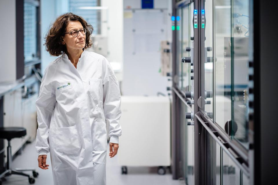 """Preventing recurrences of cancer is the """"ideal setting"""" for mRNA technology,says Dr. Özlem Türeci, co-founder and chief medical officer of BioNTech."""
