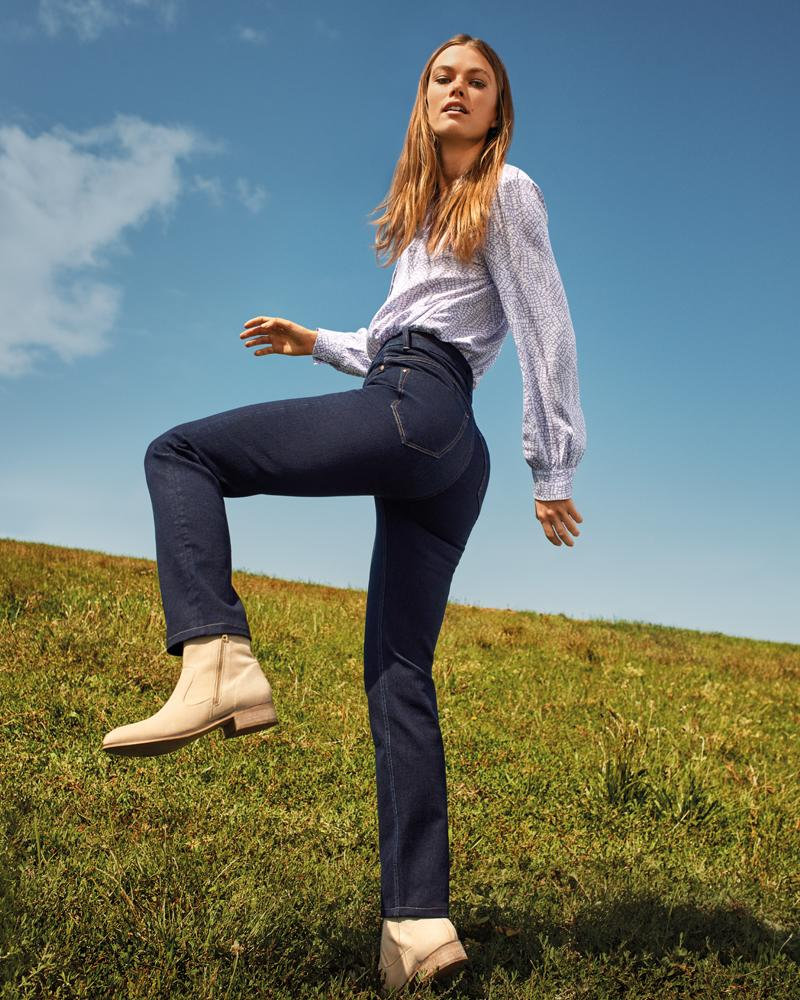 M&S' magical jeans come in both straight and skinny styles. (Marks and Spencer)