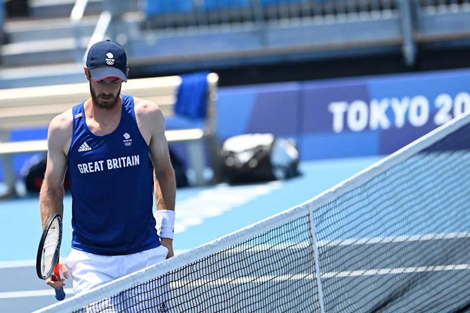 Hot work for defending champion Andy Murray at the Tokyo Olympics - as he seeks a third straight men's singles gold against all odds.
