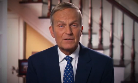 "Rep. Todd Akin (R-Mo.) released an apology video after he was slammed for comments he made about abortion and ""legitimate rape."""
