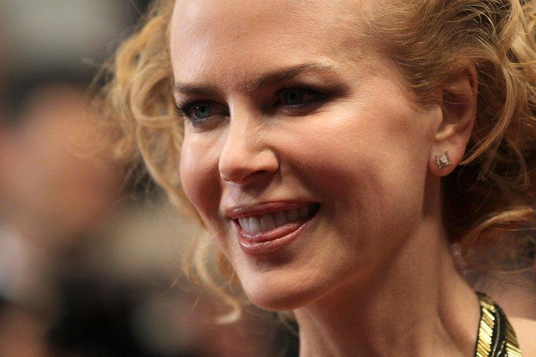 Australian actress Nicole Kidman at the 65th Cannes film festival on May 25, 2012