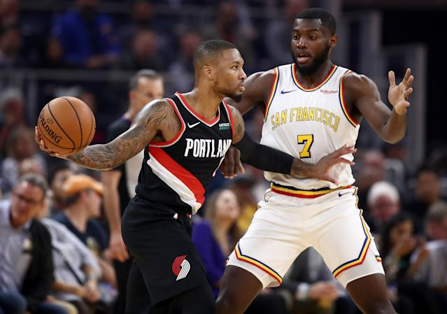 Damian Lillard wishes the Warriors hadn't moved out of Oakland. (Photo by Ezra Shaw/Getty Images)