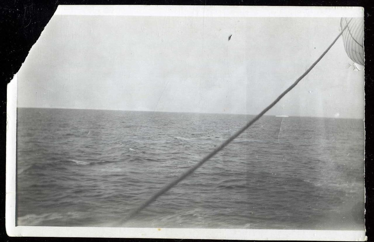 "<span style=""font-family:Arial;"">An original </span><span style=""font-family:Arial;"">3"" x 5 1/2"" photo, taken from the deck of the Carpathia, shows an iceberg in the distance.</span><br> <br> (Photo courtesy of <a target=""_blank"" href=""http://www.weissauctions.com/"">Phillip Weiss Auctions</a>)"