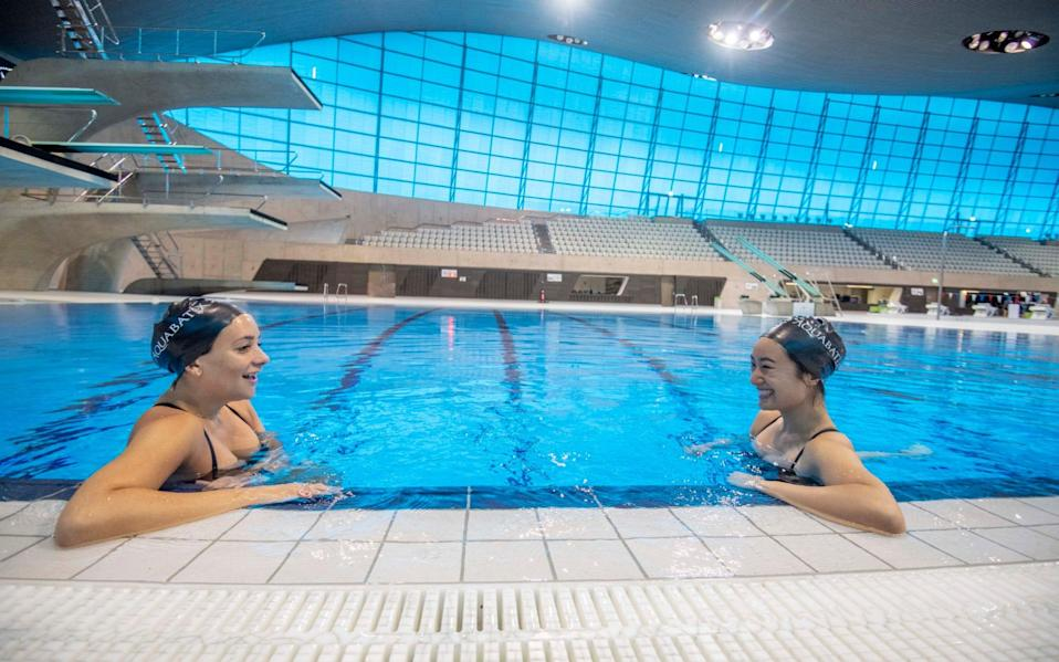 Indoor swimming pools will also reopen on April 12, but 400 leisure centres nationwide have been forced to close permanently due to the effects of the first lockdown - Paul Grover/Paul Grover for The Telegraph