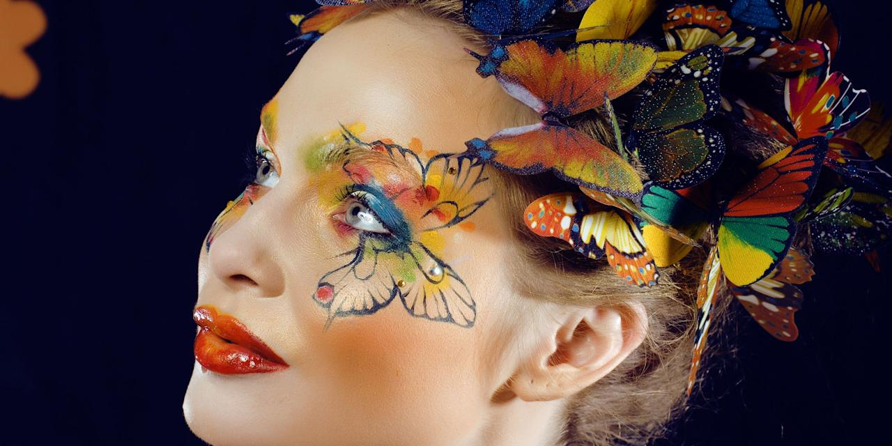these halloween face paint ideas will let you skip the uncomfortable