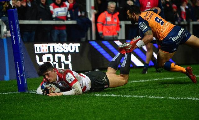 Gloucester wing Louis Rees-Zammit could be an option for Wales' backline