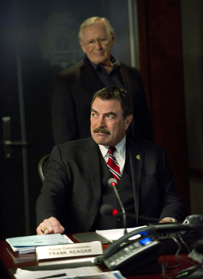 """<b>""""Blue Bloods""""<br></b><br>Friday, 5/11 at 10 PM on CBS<br><br><a href=""""http://yhoo.it/IHaVpe"""">More on Upcoming Finales </a>"""