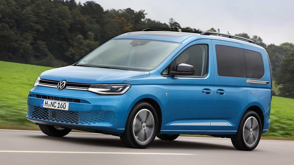 VW Caddy als Plug-in-Hybrid