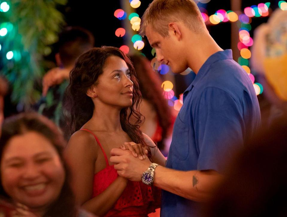 <p><strong>Thursday, November 5</strong></p><p>At first, Erica Miller (played by Kat Graham) and Captain Andrew Jantz (played by Alexander Ludwig) butt heads in this holiday-heavy romantic comedy. But once she learns more about the Captain's Air Force Base, she learns there's some holiday magic behind its walls: They are the brains behind Operation: Christmas Drop, where they parachute gifts to remote islands nearby.</p>