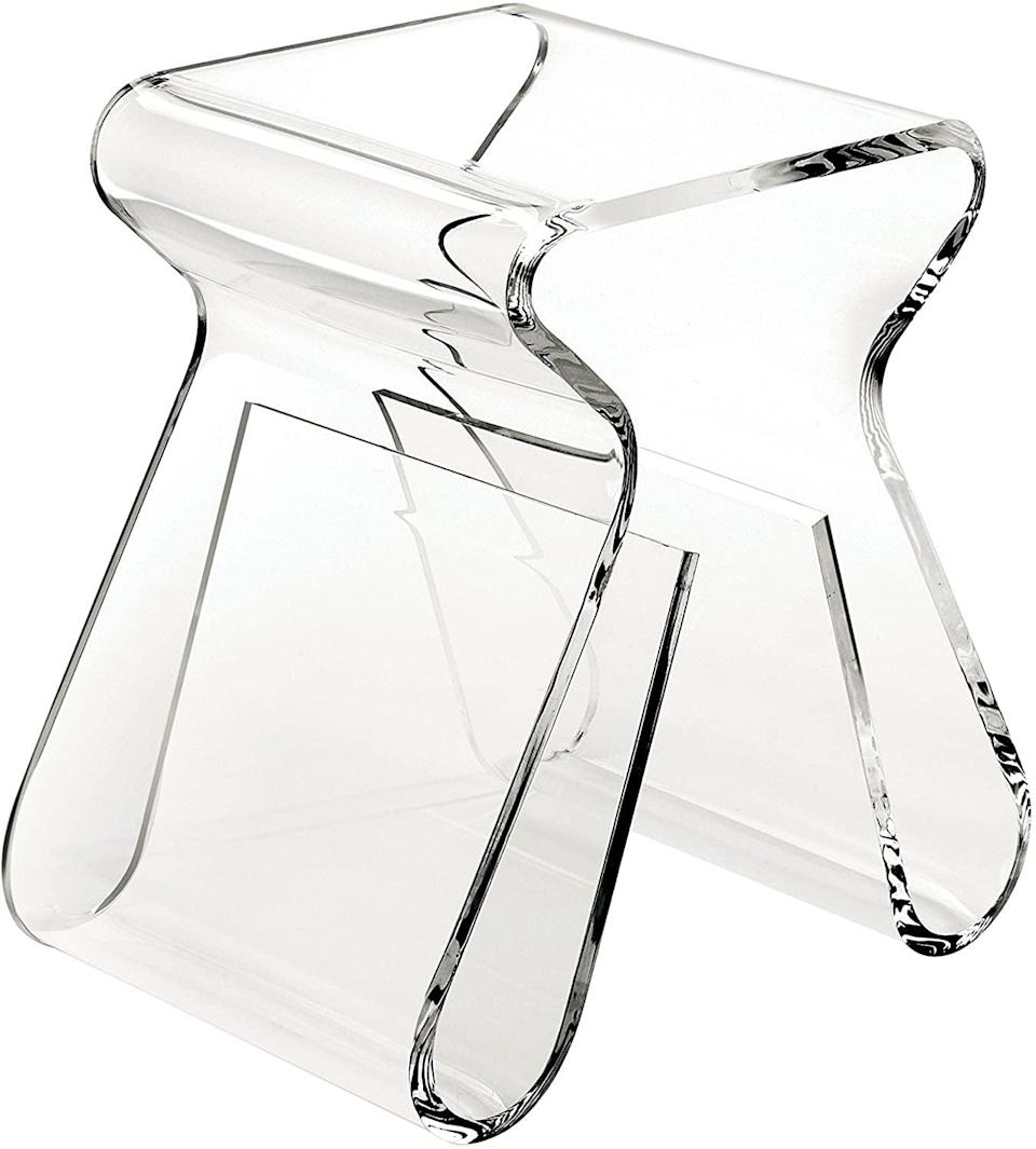 <p>This <span>Umbra Magino Acrylic Side Table</span> ($416) is the piece I've been seeing all over TikTok. </p>