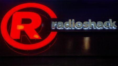 The exterior of a RadioShack store is seen in New York