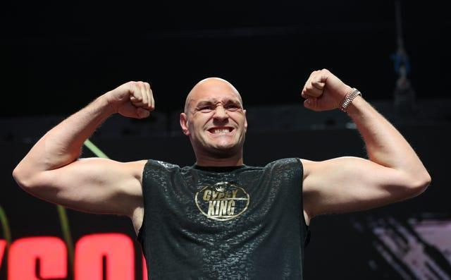 Tyson Fury, pictured, this week offered some advice to British heavyweight rival Anthony Joshua if he takes on Oleksandr Usyk again (Bradley Collyer/PA)