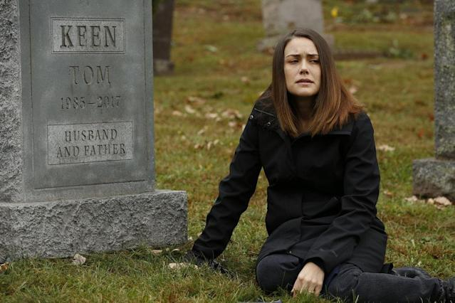 Megan Boone as Elizabeth Keen in <i>The Blacklist.</i> (Photo: Will Hart/NBC)