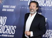 <p>The manipulative and vengeful César Lazcanois is played by Spanish actor Ginés García Millán. Millán's performance as the Lazacnos patriarch is so powerful that sometimes you forget he's even acting. A producer and actor, Millán has equal theatre and film experiences.</p>