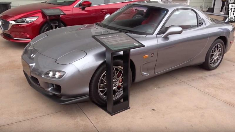 This Is The Only Left-Hand-Drive RX-7 Spirit R