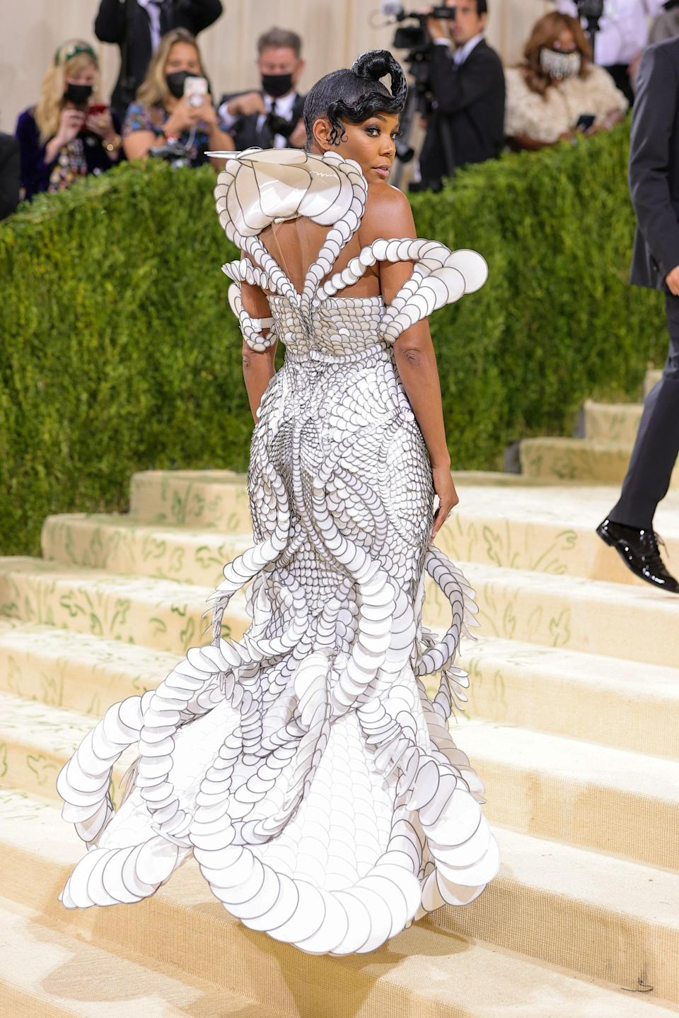 """<h1 class=""""title"""">Gabrielle Union, The 2021 Met Gala Celebrating In America: A Lexicon Of Fashion - Arrivals</h1><cite class=""""credit"""">Getty</cite>"""
