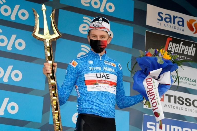 Pogacar has won two overall races this year as he prepares for his Tour de France title defence