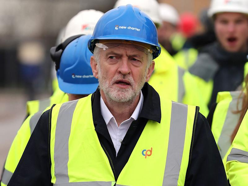 The Labour leader plans to 'declare war on late payment': PA