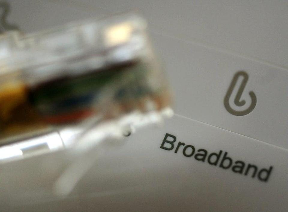 Faster broadband speeds are becoming increasingly necessary as more internet-connected smart devices become available for the home (PA) (PA Wire)