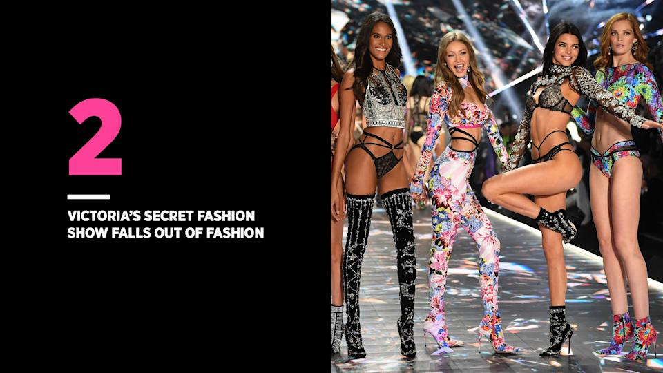 Some are wondering why the Victoria's Secret Fashion Show doesn't celebrate all types of bodies. (Photo: Getty Images)