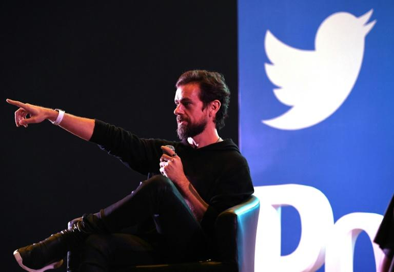 "Twitter CEO and co-founder Jack Dorsey said the social media firm will be hiring globally to have a ""more distributed workforce"" (AFP Photo/Prakash SINGH)"