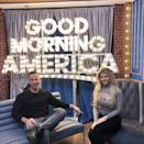 """During <a href=""""https://www.goodmorningamerica.com/news/story/mike-situation-sorrentino-wife-lauren-open-miscarriage-67105073"""" rel=""""nofollow noopener"""" target=""""_blank"""" data-ylk=""""slk:Good Morning America"""" class=""""link rapid-noclick-resp""""><em>Good Morning America</em></a>'s <em>Strahan Sara & Keke</em>, the Sorrentinos <a href=""""https://people.com/parents/jersey-shore-mike-sorrentino-wife-lauren-open-up-about-miscarriage/"""" rel=""""nofollow noopener"""" target=""""_blank"""" data-ylk=""""slk:revealed"""" class=""""link rapid-noclick-resp"""">revealed</a> that the night Mike was <a href=""""https://people.com/tv/reality-stars-who-faced-jail-time/?slide=6243140#6243140"""" rel=""""nofollow noopener"""" target=""""_blank"""" data-ylk=""""slk:released from federal prison"""" class=""""link rapid-noclick-resp"""">released from federal prison</a>, Lauren had gotten pregnant. """"The night he came home we actually conceived,"""" Lauren said. """"And then at about six-and-a-half, seven weeks I miscarried."""" Calling the miscarriage """"heart-wrenching,"""" Lauren remembered feeling grateful for her pregnancy. """"When I found out we were pregnant I felt like this is why we went through all these challenges for years and that this was our time and it was our blessing,"""" she said. """"It was hard. It was really difficult."""" As for why she opened up, Lauren said, """"I didn't want to hold this in. I wanted to share it for other people going through it and just be honest so I can kind of heal through the process."""""""