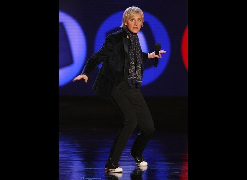 Confident, spunky and fun -- we love that Ellen's not afraid to show off her true personality.