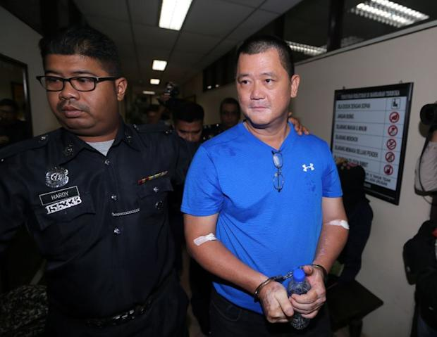 Lee Ming Chai, who was charged under Section 4(1)(b) of the Anti Money-Laundering Act (AMLA), allegedly committed the offences from January 2011 to November 2017. — Picture by Farhan Najib