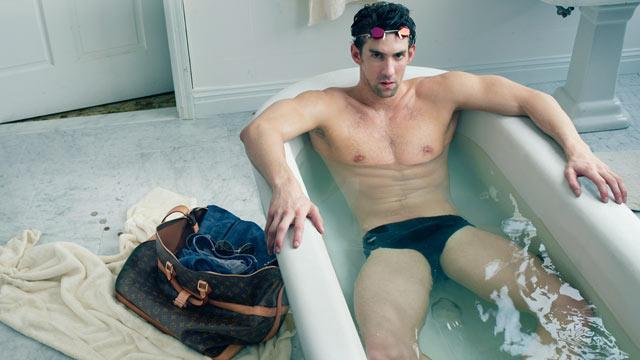 Michael Phelps' Leaked Louis Vuitton Ad Could Mean Olympic Trouble