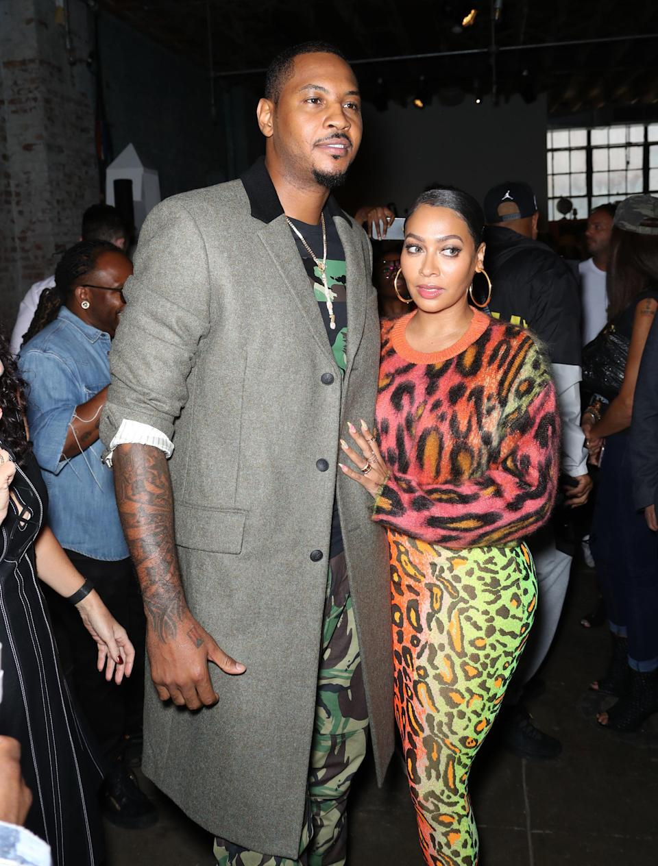 I love a loyal NBA couple, tbh. La La and Carmelo were married in 2010 before she filed for divorce in June of 2021. Their divorce isn't official yet, so maybe they'll reconcile and avoid breaking my heart.