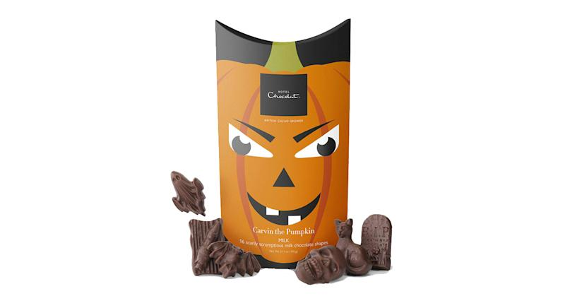 Hotel Chocolat Carvin' the Pumpkin Milk Chocolate Boo Box