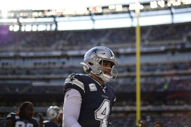Dak Prescott would rather the Cowboys struggle now than later. (Steven Ryan/Getty Images)