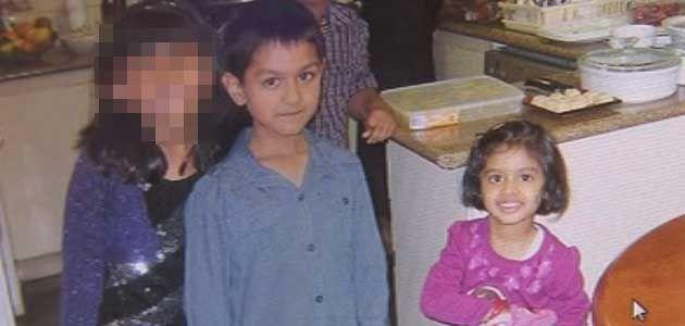 Divesh Sharma, five, and sister Divya, three, were discovered dead inside their family home this morning. Photo: Supplied.