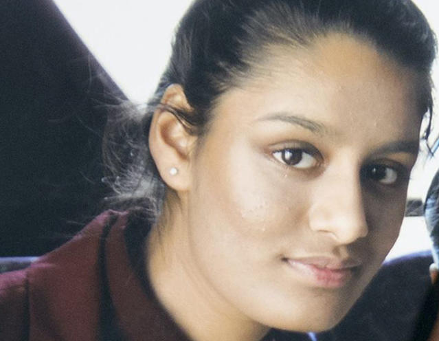 Shamima Begum is appealing a ruling that says she can't return to the UK to challenge a court decision. (PA)