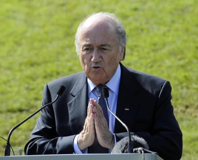 Blatter was initially banned for eight years in December 2015, with the sanction reduced to six years after an appeal (Rebecca Naden/PA)