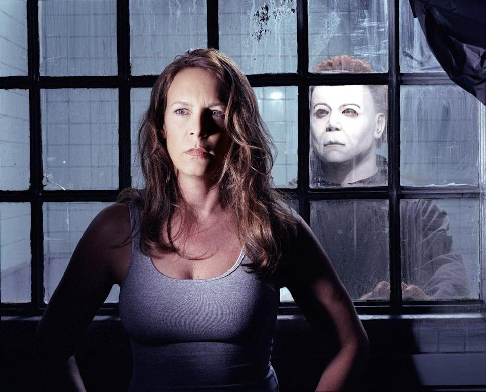 """<p>If you waited until the last-minute, this is the costume for you. Recreate the looks of serial killer Michael Myers and iconic survivor girl Laurie with just a wig, a Michael Myers mask, and a jumpsuit. Throw on some fake blood on for good measure. </p><p><a class=""""link rapid-noclick-resp"""" href=""""https://www.amazon.com/Womens-Medium-length-Blonde-Cosplay/dp/B07LDN2L27/?tag=syn-yahoo-20&ascsubtag=%5Bartid%7C10070.g.28669645%5Bsrc%7Cyahoo-us"""" rel=""""nofollow noopener"""" target=""""_blank"""" data-ylk=""""slk:Shop Blonde Wig"""">Shop Blonde Wig </a></p><p><a class=""""link rapid-noclick-resp"""" href=""""https://www.amazon.com/COSMOVIE-Horror-Halloween-Michael-Cosplay/dp/B07GWS5S11?tag=syn-yahoo-20&ascsubtag=%5Bartid%7C10070.g.28669645%5Bsrc%7Cyahoo-us"""" rel=""""nofollow noopener"""" target=""""_blank"""" data-ylk=""""slk:Shop Michael Myers Mask"""">Shop Michael Myers Mask</a></p>"""