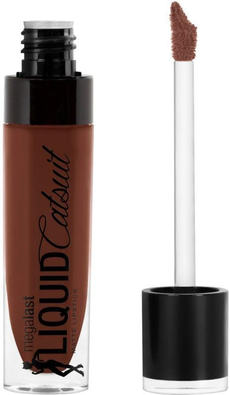 <p>The <span>Wet n Wild Megalast Liquid Catsuit Matte Lipstick</span> ($5) slicks across your lips for budge-proof, vivid color that won't ever flake or crack.</p>