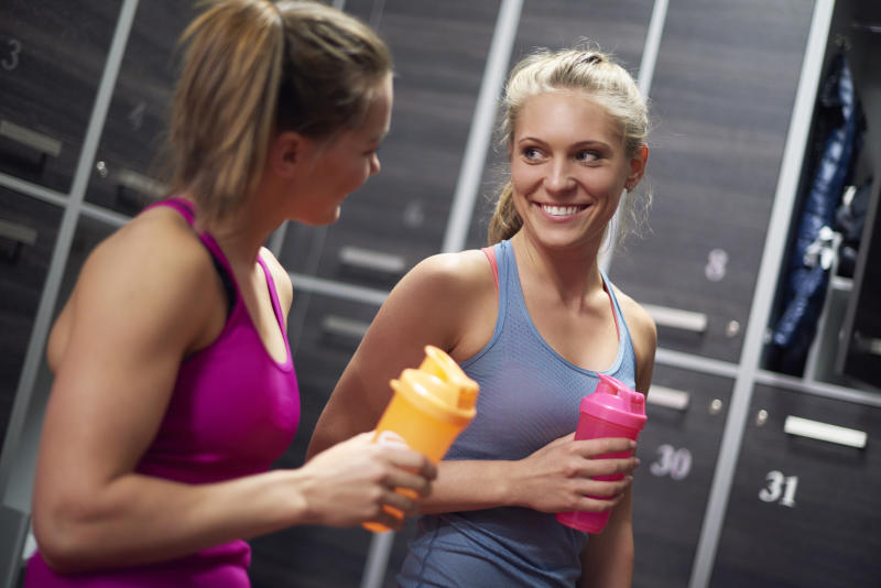 There's a huge market for protein shakes. [Photo: Getty]