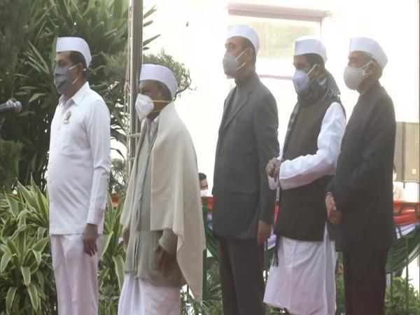Indian National Congress observed 136th Foundation Day on Monday. (ANI/Photo)