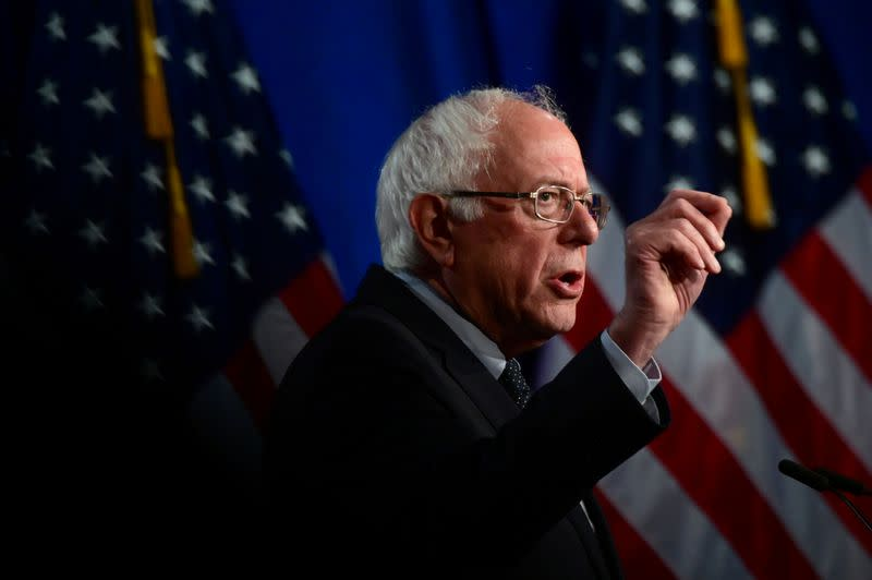 Health insurer shares pummeled by Sanders surge, virus worries