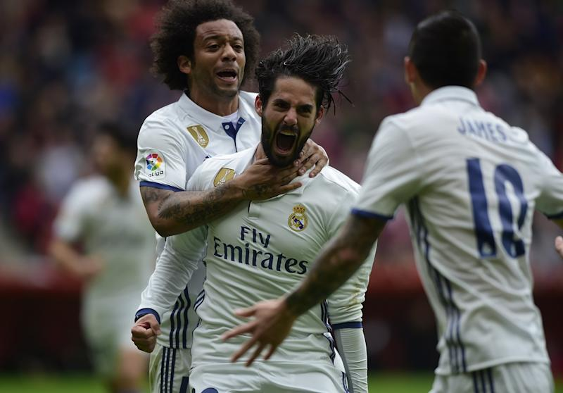 VIDEO: Isco, le sauveur du Real Madrid à Gijon