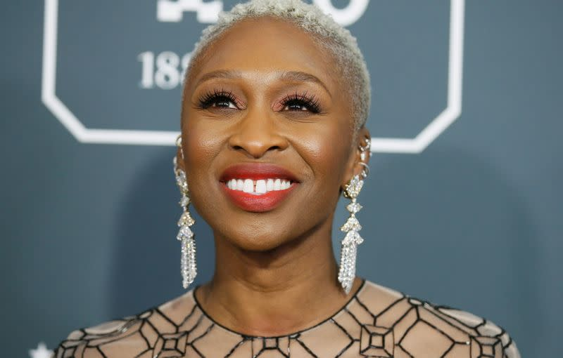 FILE PHOTO: 25th Critics Choice Awards – Arrivals – Santa Monica, California, U.S., January 12, 2020 - Cynthia Erivo