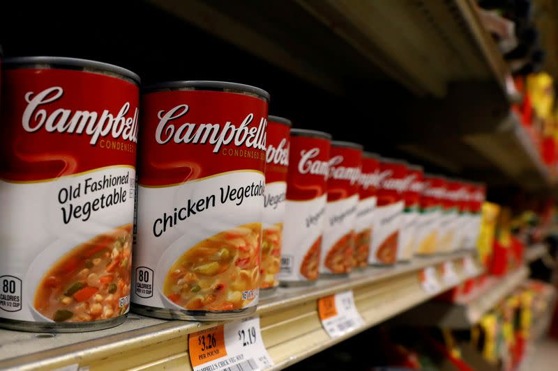 Late Thanksgiving cools Campbell soup sales as grocers delay shipments