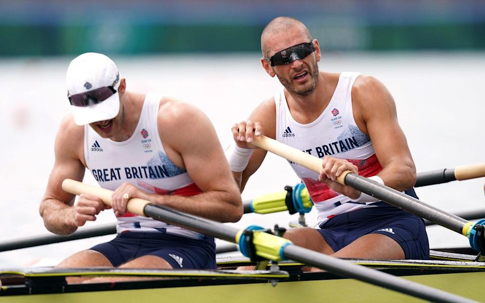 Team GB won bronze in the men's eight but medals were few and far between otherwise - PA