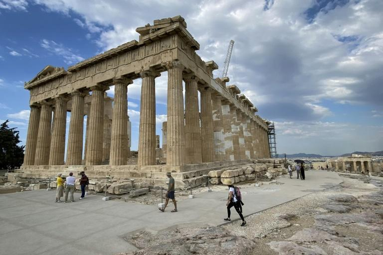 Officials say the old paths around the Acropolis caused hundreds of accidents every year