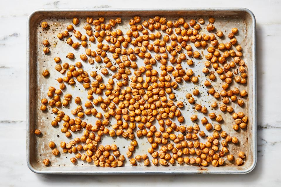 If we're talking canned goods, we're talking chickpeas.