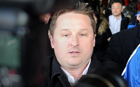 <span>Business consultant Michael Spavor is one of two Canadians arrested by China after Ms Meng was detained</span> <span>Credit: WANG ZHAO/AFP/Getty Images </span>