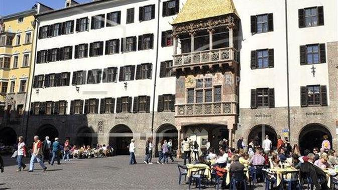 Golden Roof in Innsbruck, Austria (AP Photo/Kerstin Joensson)