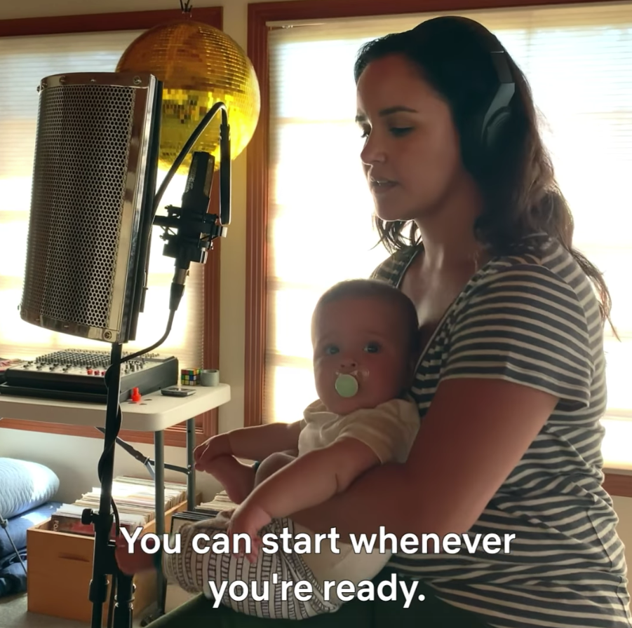 Melissa Fumero appears in Motherhood in Focus Netflix clips under fire for 'awful' mum message